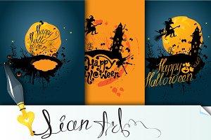 3 Cards - Happy Halloween