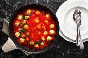 Tasty Meatballs from ricotta cheese