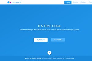 CoolstartUp - HTML Template & Sketch