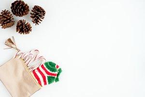 Christmas Flatlay | Stock Image