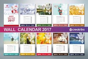Wall Calendar 2017 - v017