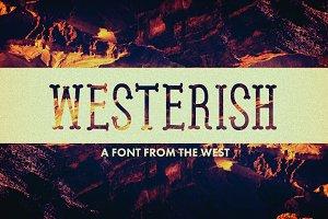 Westerish Font