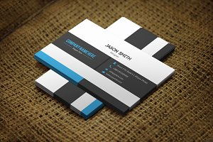 Anixo Business Card Template