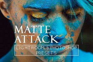 4 Matte Portrait Lr & Ps Presets