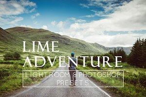 1 Adventure Themed Lr & Ps Preset