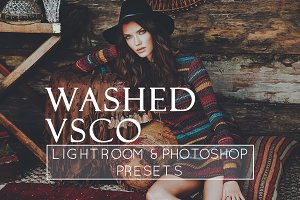 3 Faded VSCO Style Lr & Ps Presets