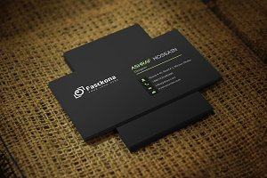 Flaxio Business Card Template