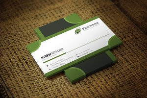 Froki Business Card Template