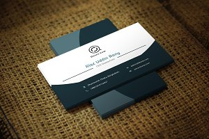 Porio Business Card Template