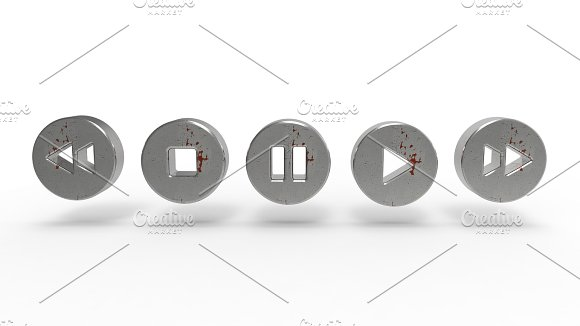 Music Player Button