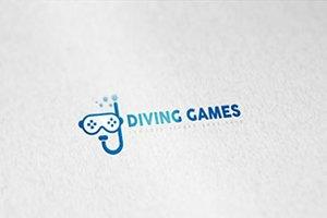 Diving Games Logo