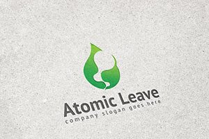 Atomic Leave Logo