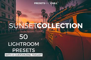 50 Sunset Sunrise Lightroom Presets