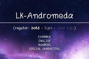 Andromeda Hand Drawn Font