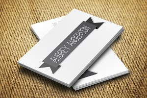 Aubrey II Business Card Template