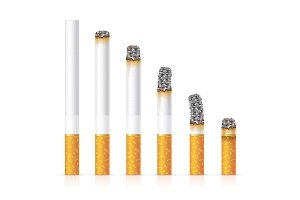 Realistic Cigarette Set