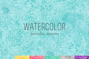 Seamless watercolor textures