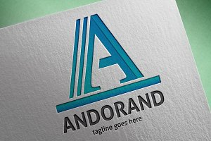 Andorand (Letter A) Logo