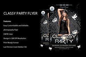 CLassy Night Flyer