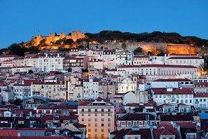 City of Lisbon at Dusk