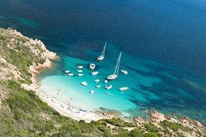 Small bay in Sardinia