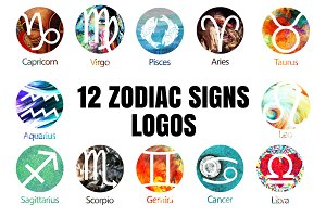 NEW ARTWORK FOR ZODIAC SIGNS