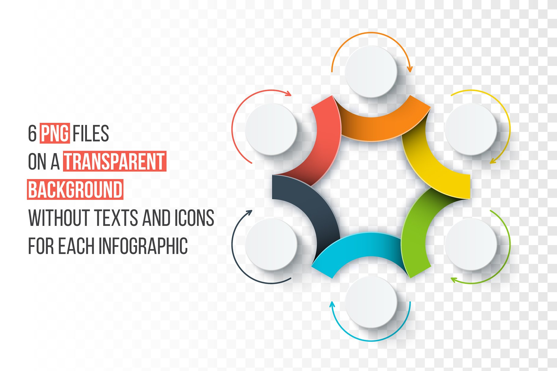Infographics Template Set V44 Presentation Templates Creative
