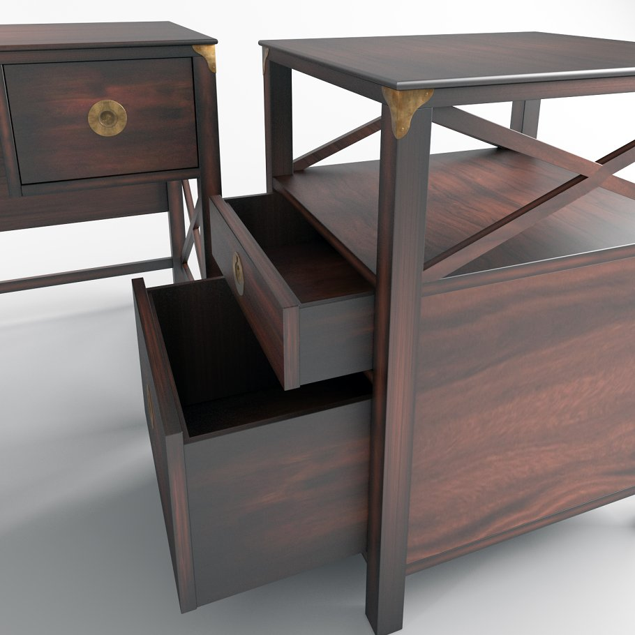 Laura Ashley Coffee Table With Drawers: Laura Ashley Bedside Table Ls