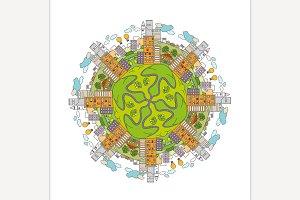 City Mandala