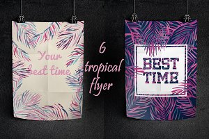 6 tropical flyers