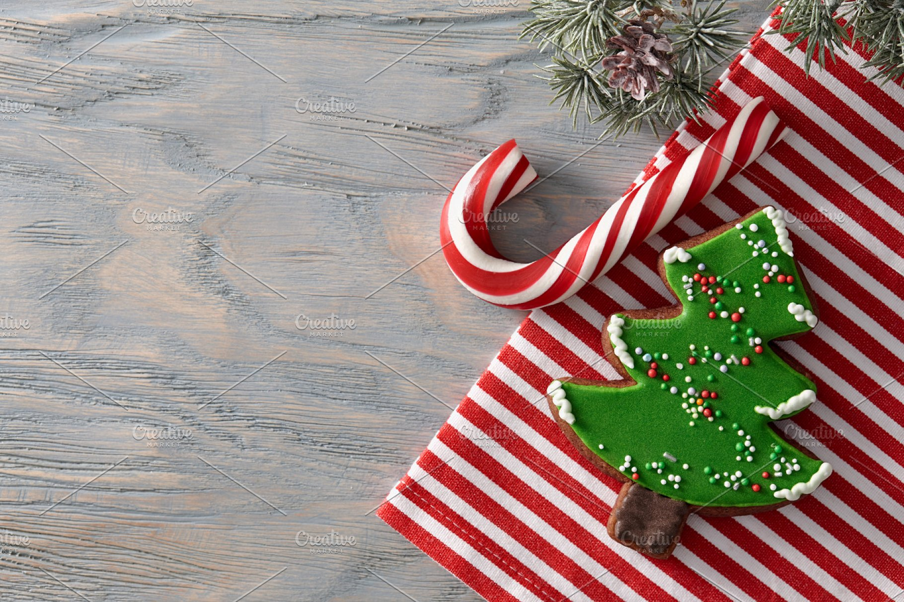 Christmas Candies.Christmas Candies Background