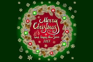 2 Merry Christmas And Happy New Year