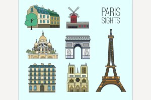 Paris Travel Set
