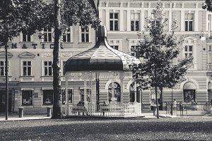 Pavillion in City Square
