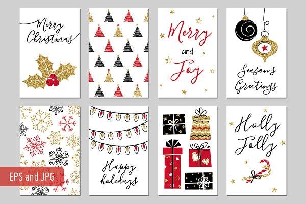christmas gift tags creative illustrator templates creative market christmas gift tags