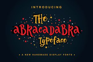 The Abracadabra Typeface