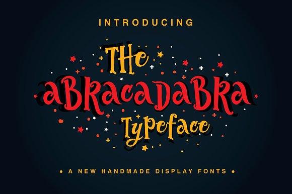 The Abracadabra Typeface