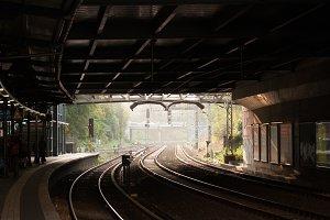 Hazy Morning on the Tracks