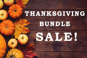 Thanksgiving photo bundle!