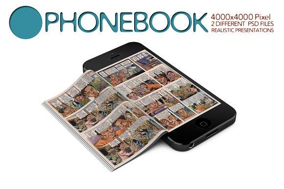 Download Phonebook Mock Up