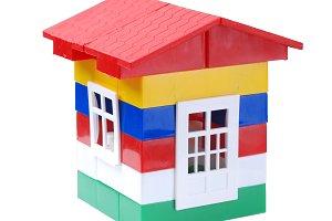 toy plastic house