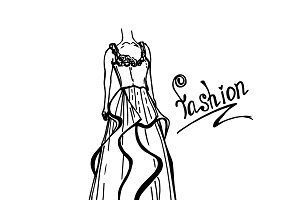 fashion concept, vector illustration