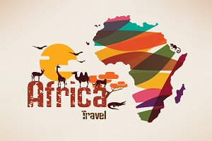 Africa Travel Background