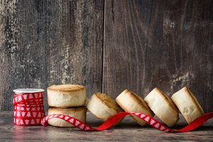 Traditional Christmas shortbread