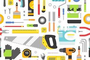 Construction tools pattern