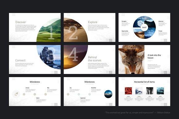 geometry powerpoint template presentation templates creative market