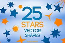 Stars Vector Shapes
