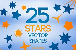 Stars Vector Shapes