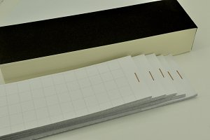 recicling paper for handwriting