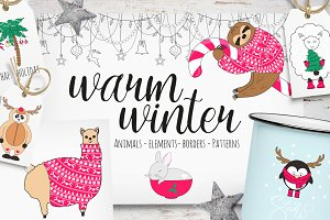 Warm winter collection